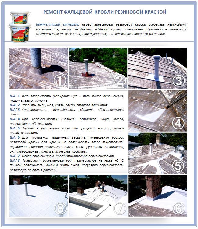 герметизация конька на крыше