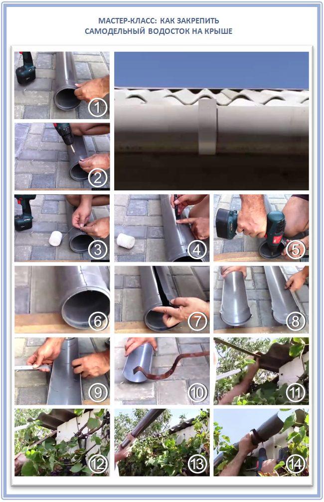 Мастер-класс: как сделать водопровод из труб для канализации