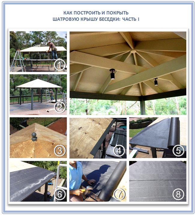 Дизайн подкровельного пространства шатровой крыши
