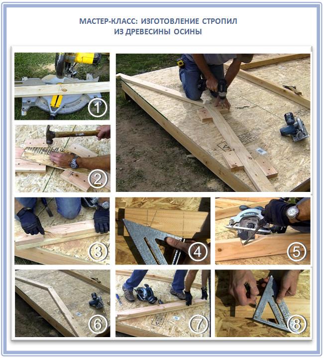 Как выбрать стропила: учимся выбирать действительно качественный стройматериал