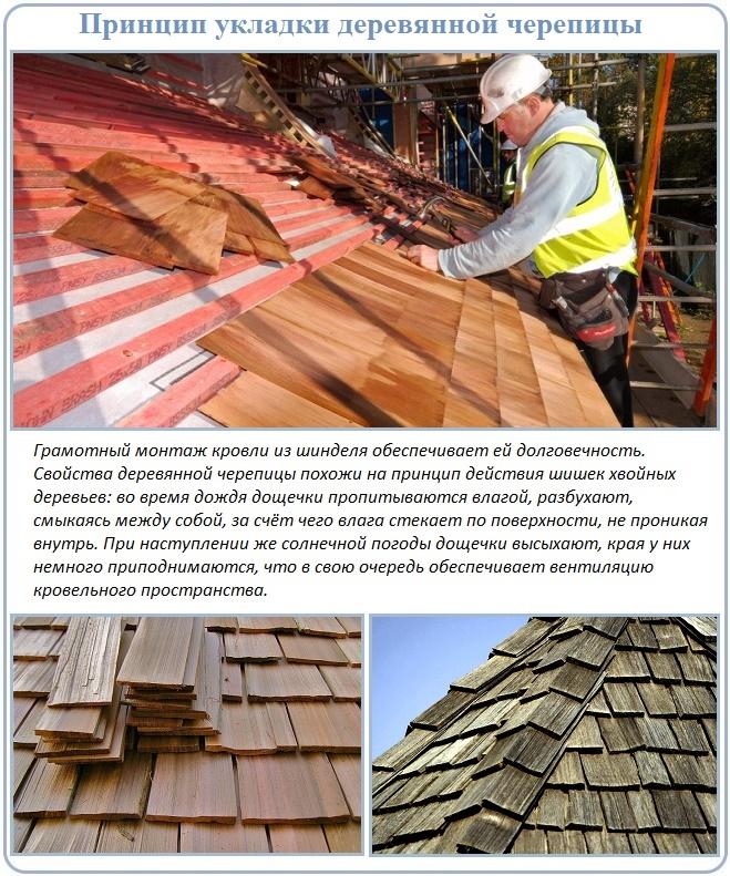 Правила укладки шинделя на крышу