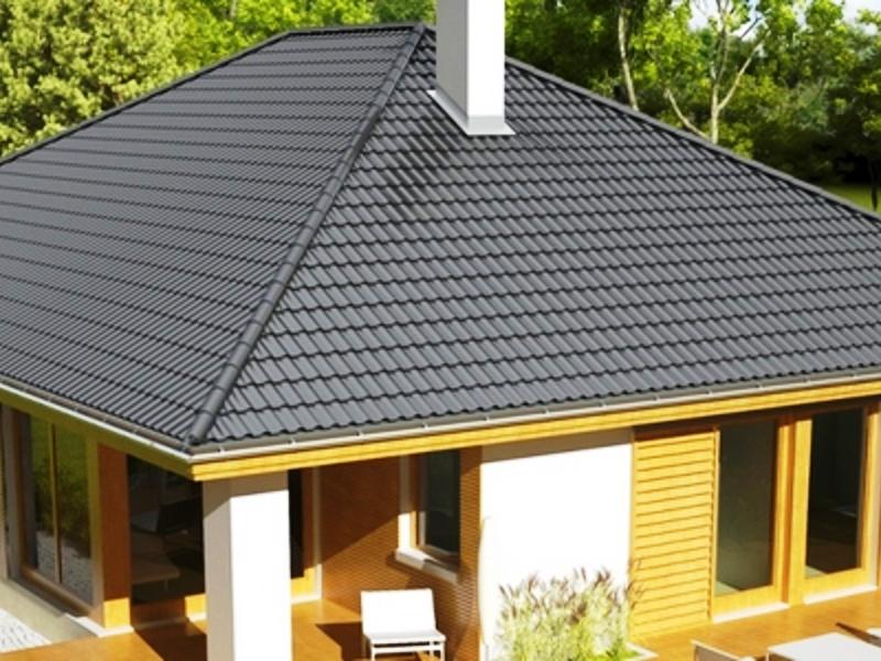 Вальмовая крыша картинка