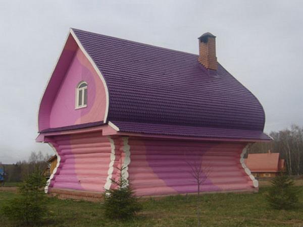 Луковичная крыша дома