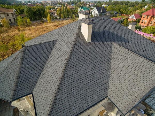Покрытие крыши черепицей Шинглас Ранчо