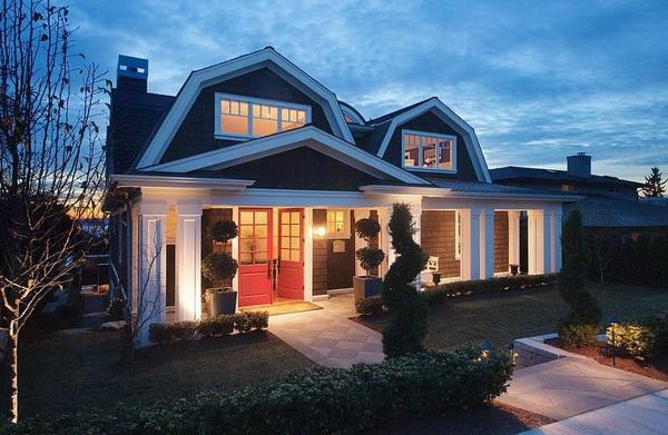 Ломаная крыша для частного дома