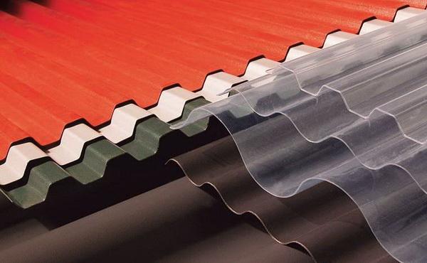 Пластиковые материалы для крыши