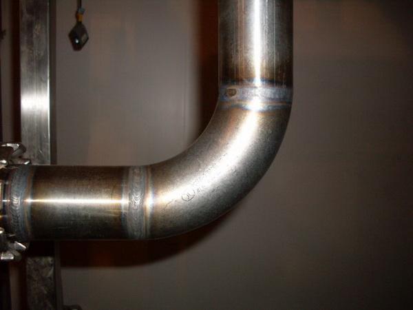 Внутренний водоотвод из стальных труб