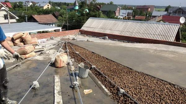 Разуклонка из легкого бетона