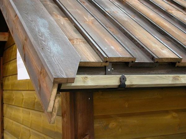 Как укладывать доски на крышу