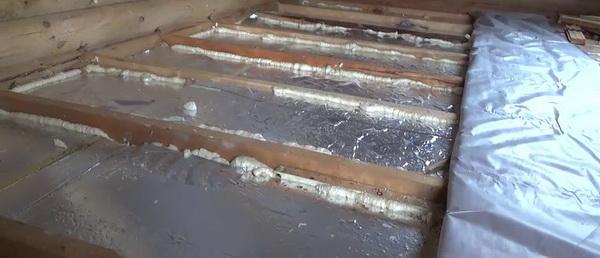 PIR-плиты для утепления чердачного перекрытия