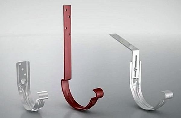 Кронштейны для водостока с ребрами жесткости