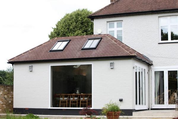 Виды крыш для пристройки к дому