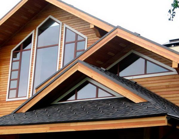 Треугольные фронтонные окна