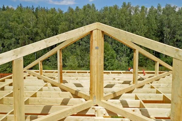 Как сделать шатровую крышу